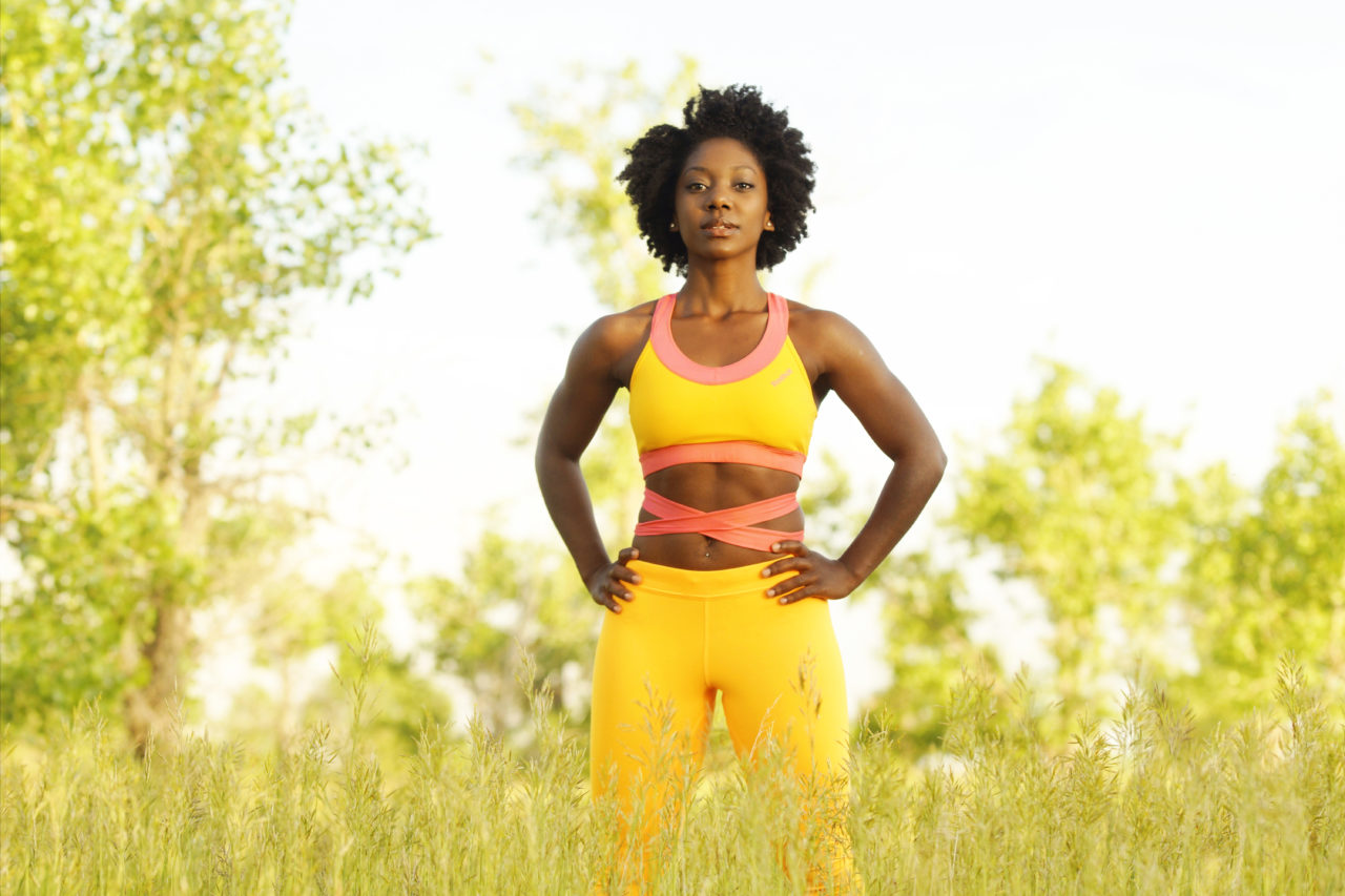 Head Fitness Coach and Co-Founder of FIT & NU, Brittney Rae Reese
